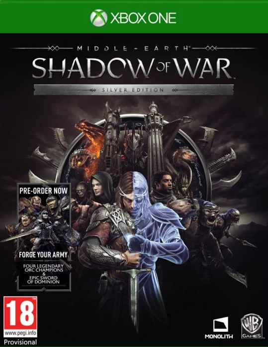 Middle-Earth: Shadow of War Silver Edition [Xbox One]