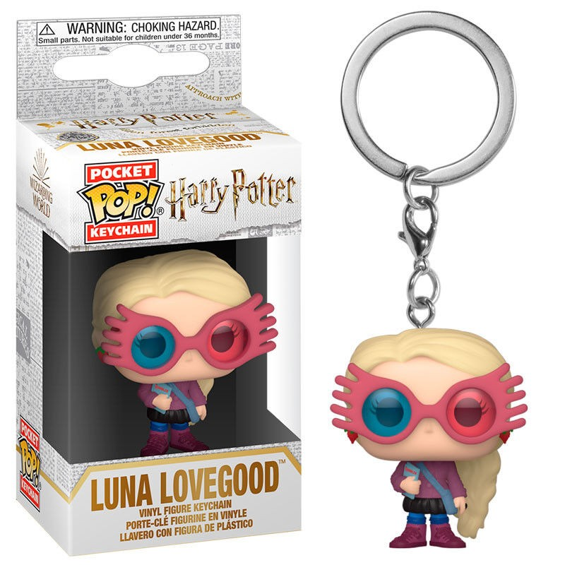 Klíčenka-Harry Potter Luna Lovegood