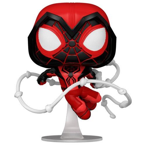 Funko POP! Marvel Spiderman Miles Morales Crimson Cowl Suit