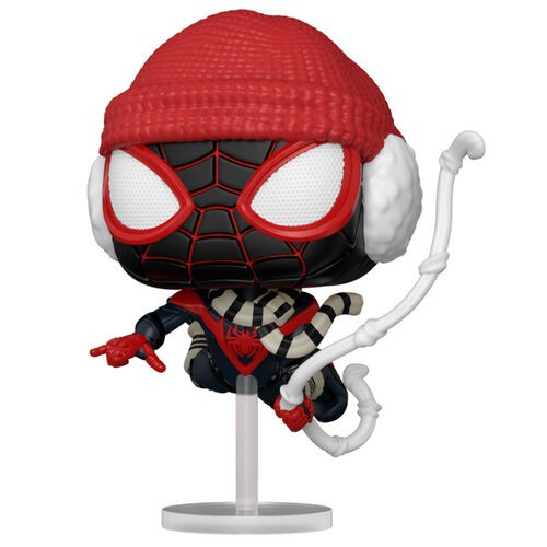 Funko POP! Marvel Spiderman Miles Morales Winter Suit