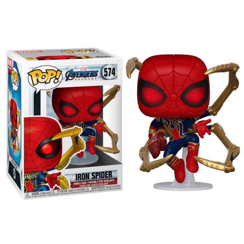 Funko POP! Avengers Endgame Iron Spider Nano Gauntlet