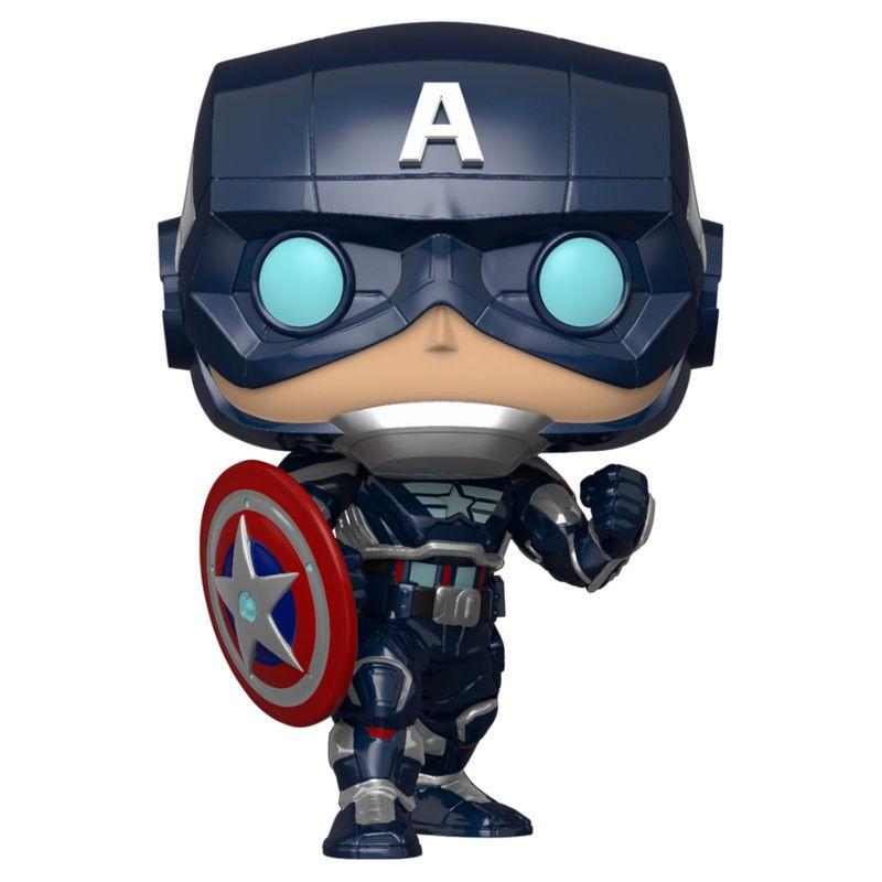 Funko POP! Marvel Avengers Game Captain America Stark Tech Suit