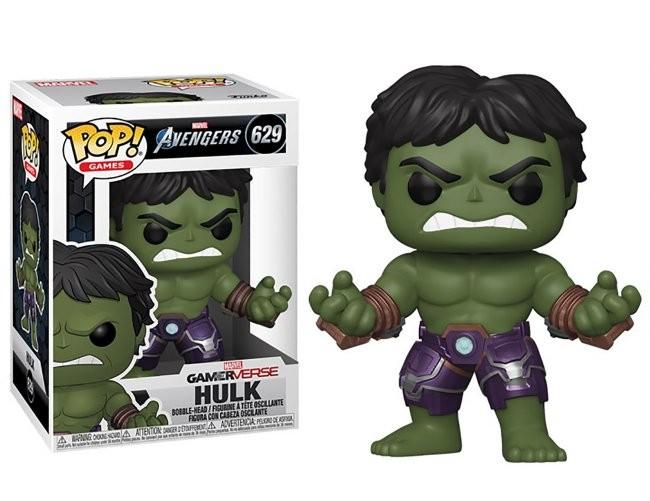 Funko POP! Marvel Avengers Game Hulk Stark Tech Suit