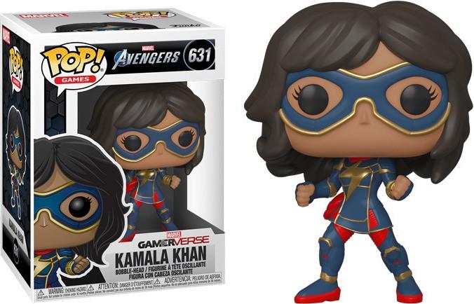 Funko POP! Marvel Avengers Game Kamala Khan Stark Tech Suit