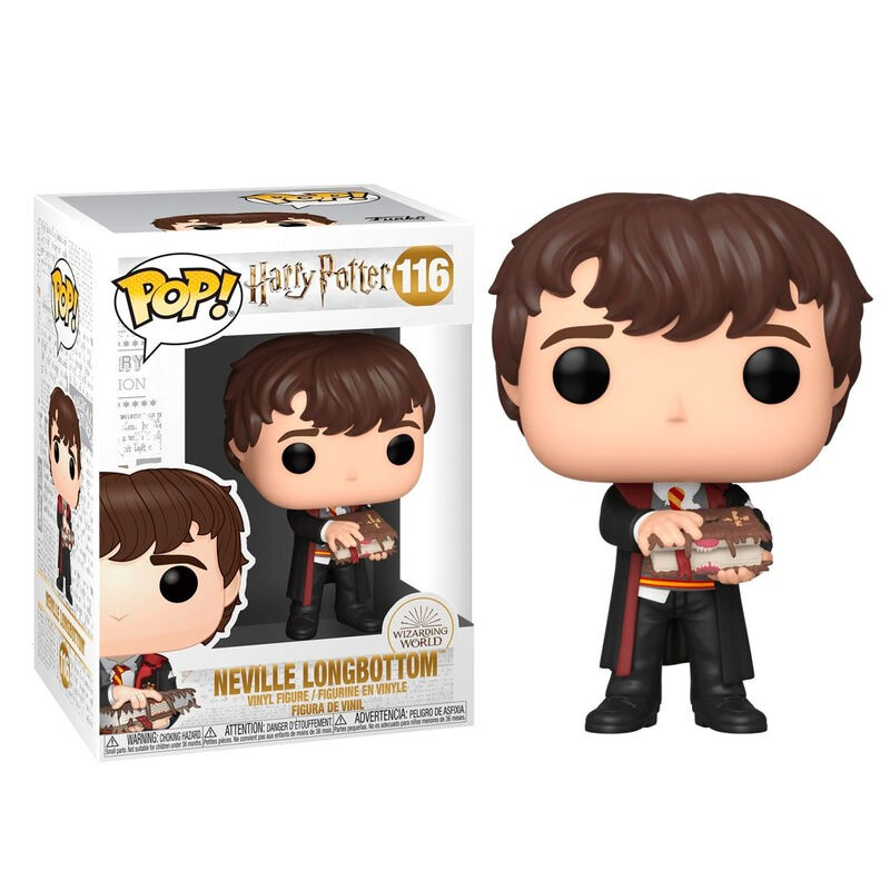 Funko POP! Harry Potter Neville with Monster Book