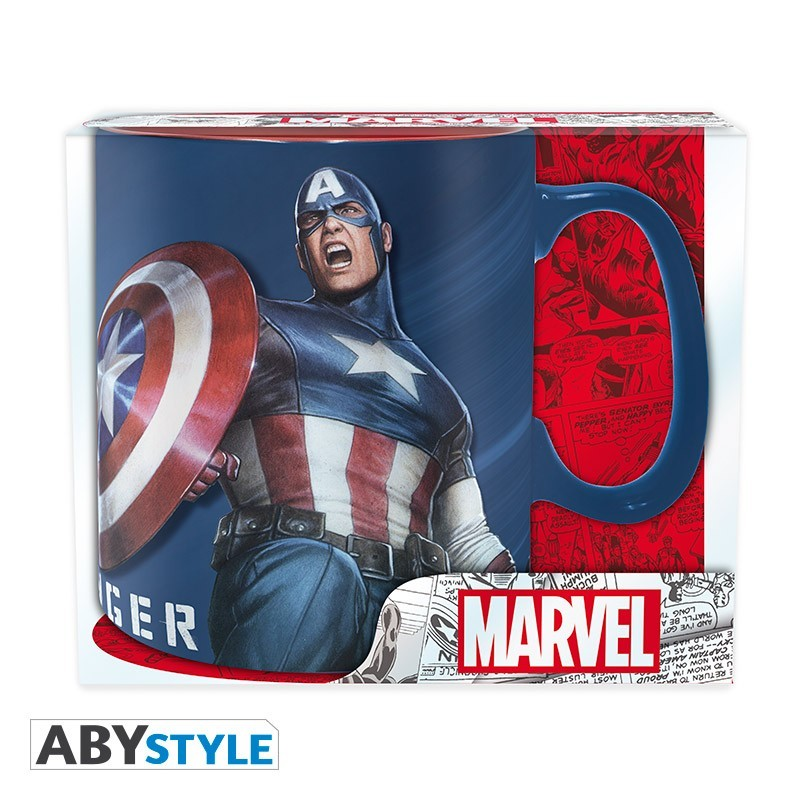 "MARVEL - Hrnek - 460 ml - ""Sentinel of Liberty"""