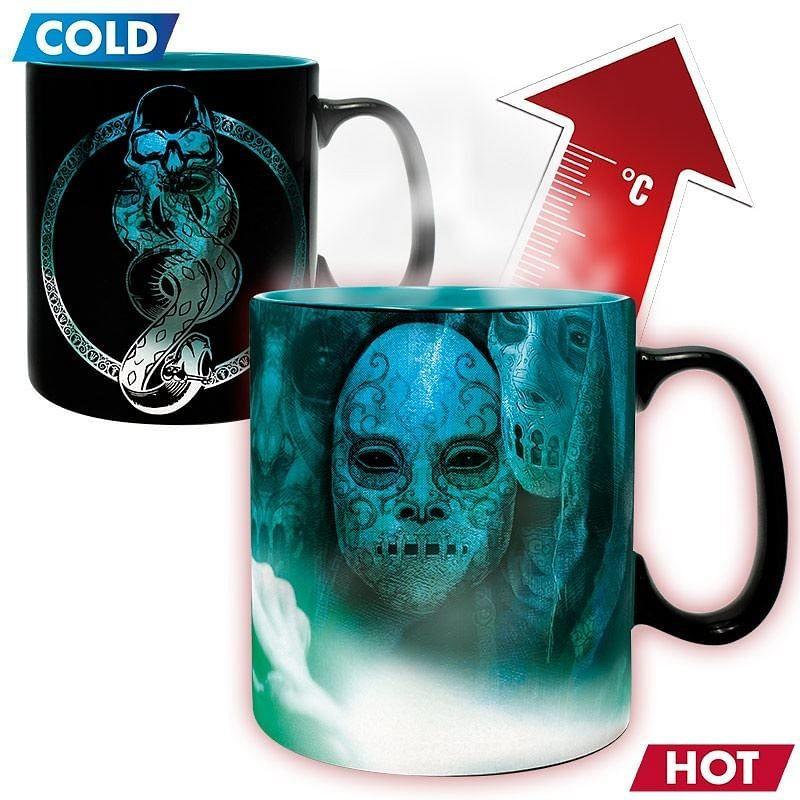 HARRY POTTER - Hrnek Heat Change - 460 ml - Voldemort