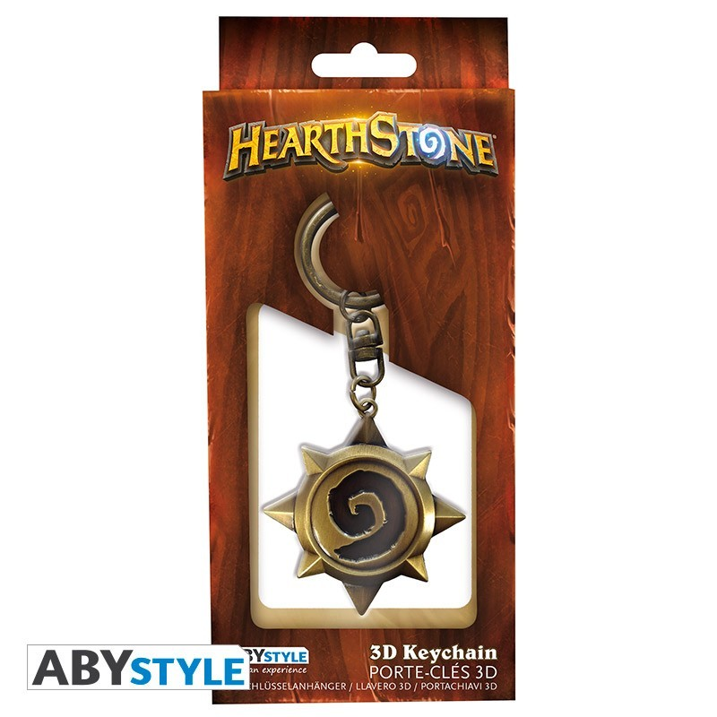 """HEARTHSTONE - Klíčenka 3D """"Rosace"""""""
