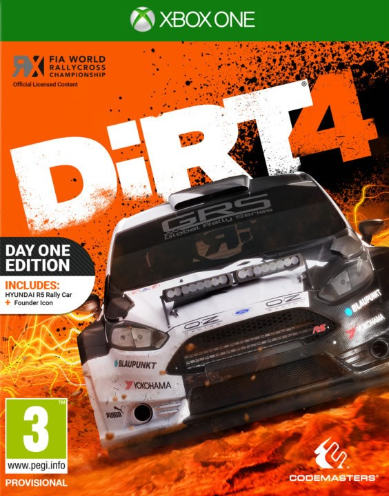 DIRT 4 D1 Edition [Xbox One]