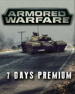 Armored Warfare 7 Days premium