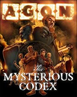 AGON The Mysterious Codex (Trilogy)