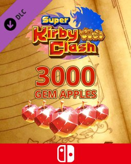 3000 Gem Apples dla Super Kirby Clash
